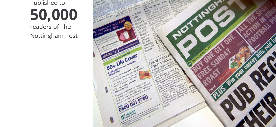 PR example in Nottingham Post for Solicitors Shacklocks