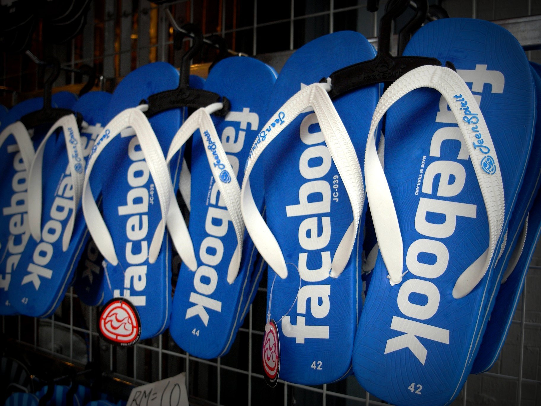 Facebook flipflop. Source: Momo, Flickr